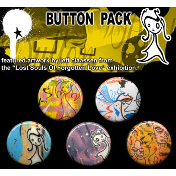 Button Pack - Lost Souls