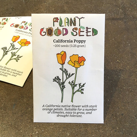 Seeds - California Poppy