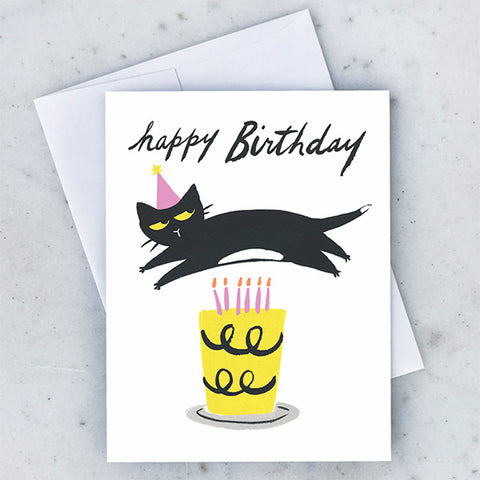 Card - Cat Candles