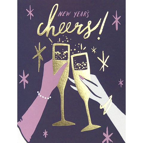 Card - Cheers New Years