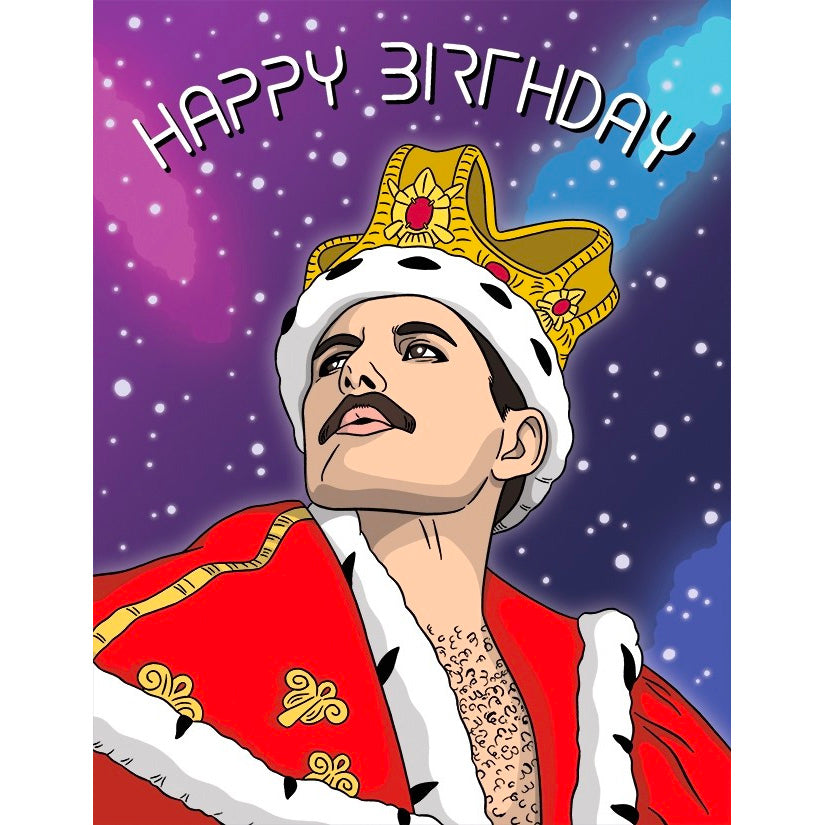 Card - Freddie Mercury