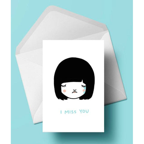 Card - I Miss You