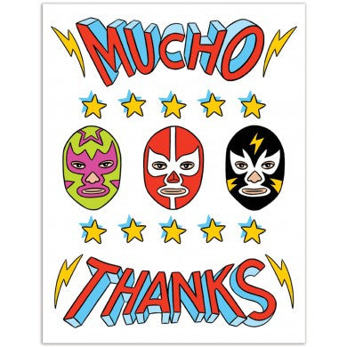 Card - Mucho Thanks
