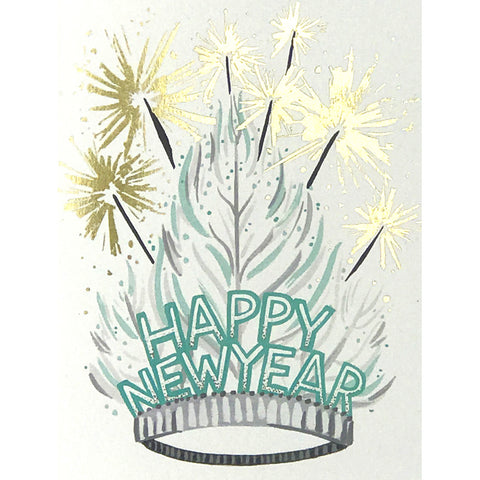 Card - New Years Tiara