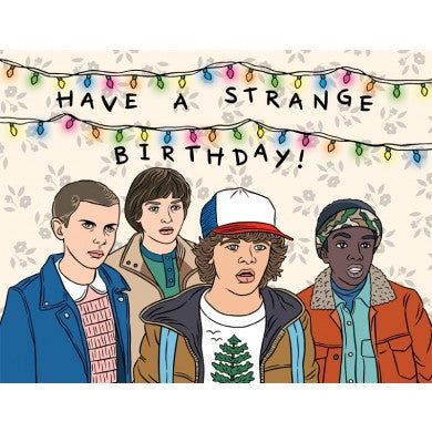 Card - Stranger Things