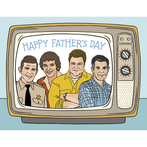 Card - TV Dad's, Father's Day
