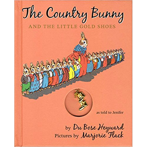 Book - The Country Bunny And The Little Gold Shoes By Du Bose Heyward