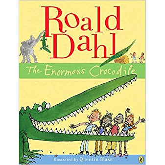 Book - The Enormous Crocodile By Roald Dahl