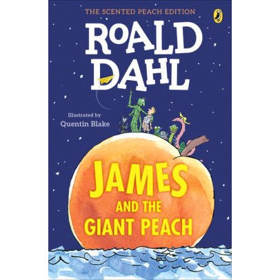 Book - James And The Giant Peach By Roald Dahl
