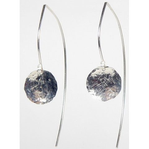 Jewelry - We Goddess, Michelle All-Sterling Silver Long-Back Earrings