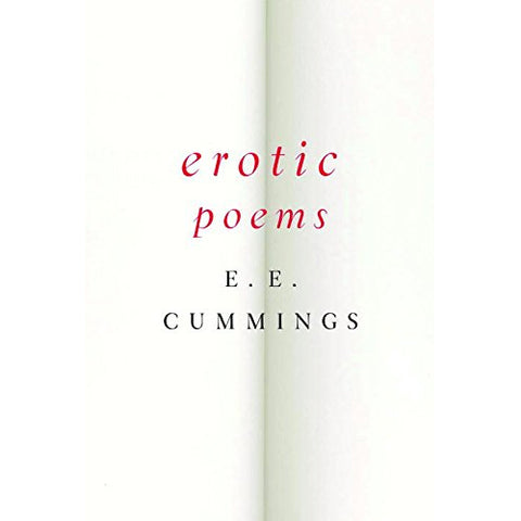 Book - Erotic Poems by E.E. Cummings