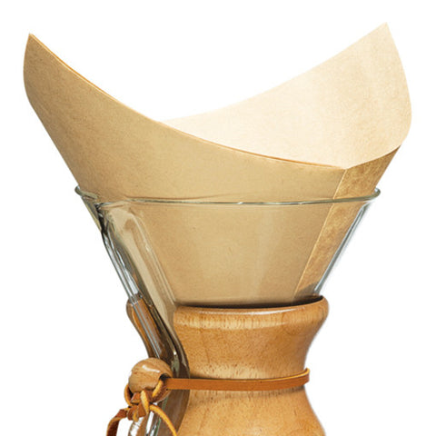Chemex - Filters, Bonded Pre-folded Squares (Natural)