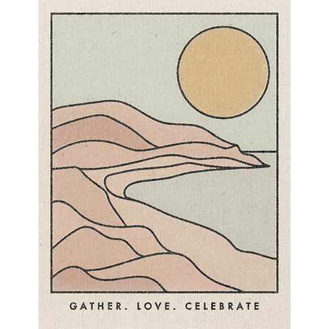 Card - Gather, Love, Celebrate