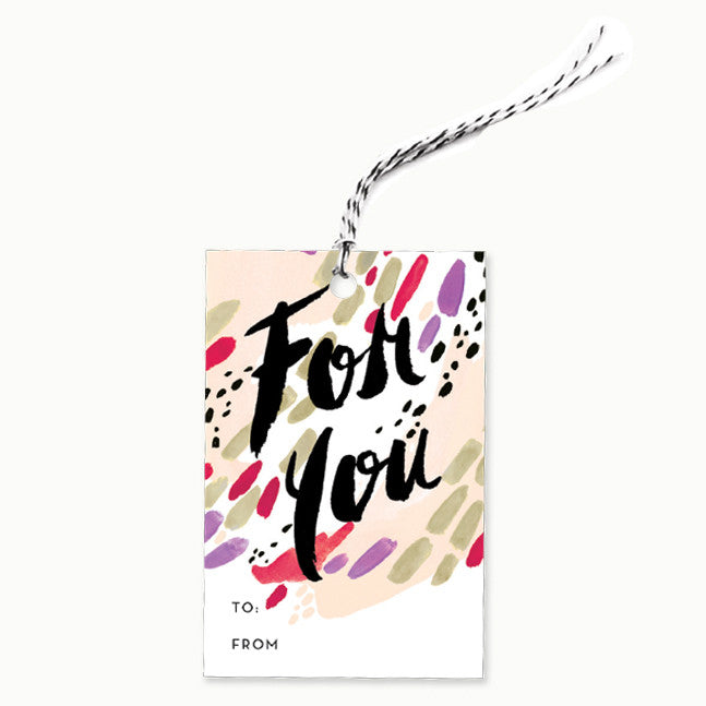 Gift Tag, Single - Painter's