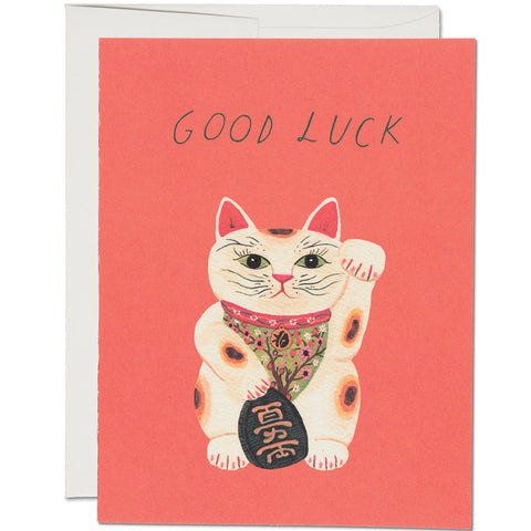 Card - Good Luck Kitty