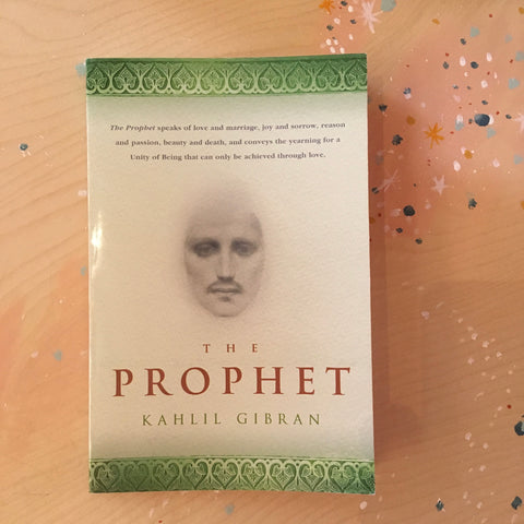 Book - The Prophet By Kahlil Gibran