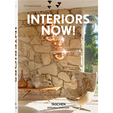 Book - Interiors Now By Aurelia Taschen