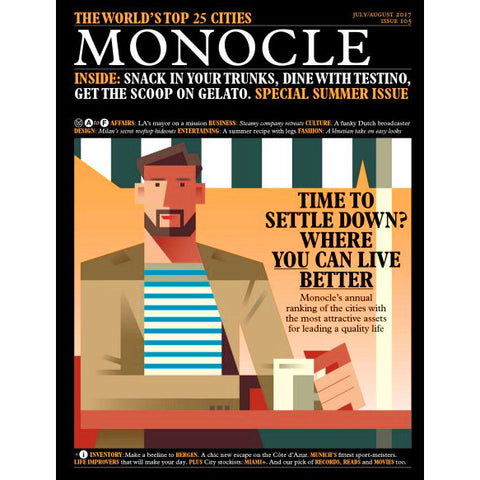 Magazine - Monocle Issue 105, July/August 2017