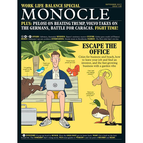 Magazine - Monocle Issue 106, September 2017