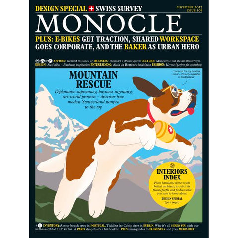 Magazine - Monocle Issue 108, November 2017
