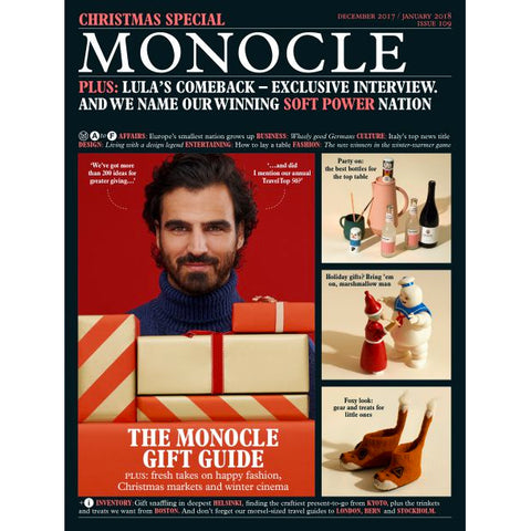 Magazine - Monocle Issue 109, Dec 2017/Jan 2018