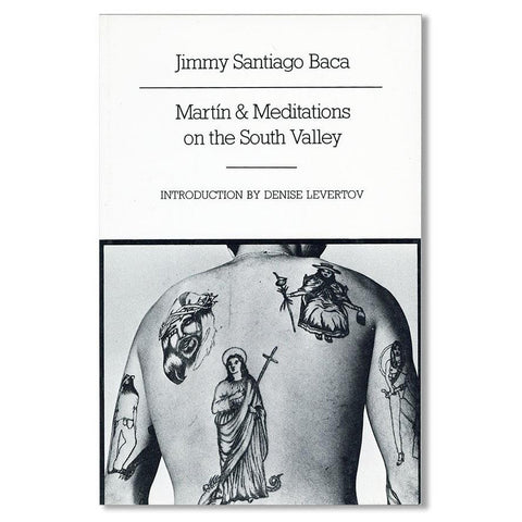 Book - Martin And Meditations On The South Valley, By Jimmy Santiago Baca