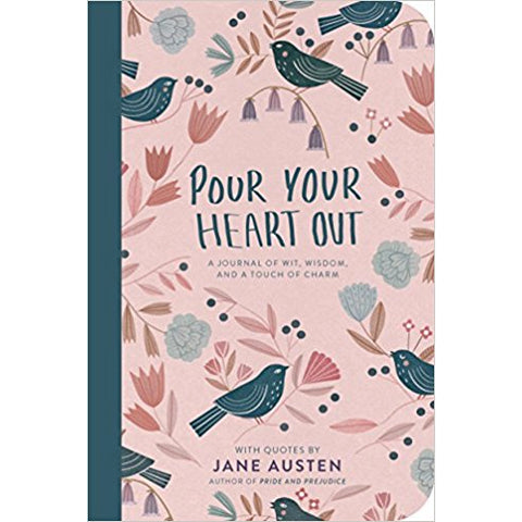Book, Journal - Pour Your Heart Out With Jane Austen Quotes