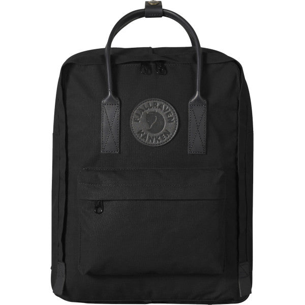Backpack - Kanken No. 2, Black w/Black Leather