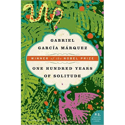 Book - One Hundred Years Of Solitude by Gabriel Garcia Marquez