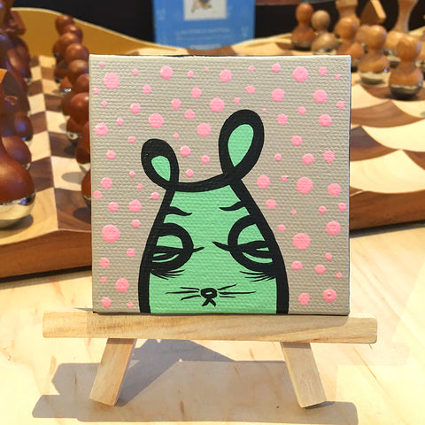 Jeff Claassen - Mini Painting, Bailey The Bunny