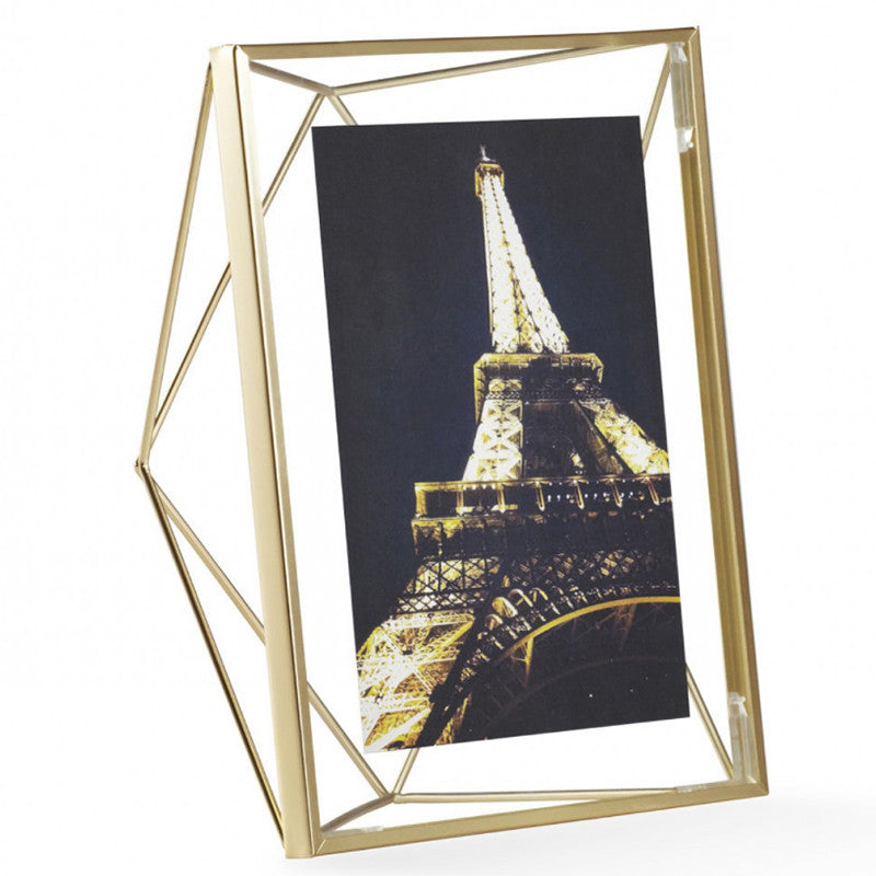 Photo Display - Prisma 5x7, Brass
