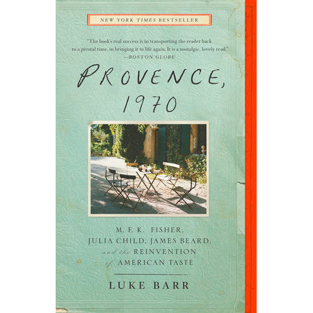 Book - Provence, 1970 By Luke Barr