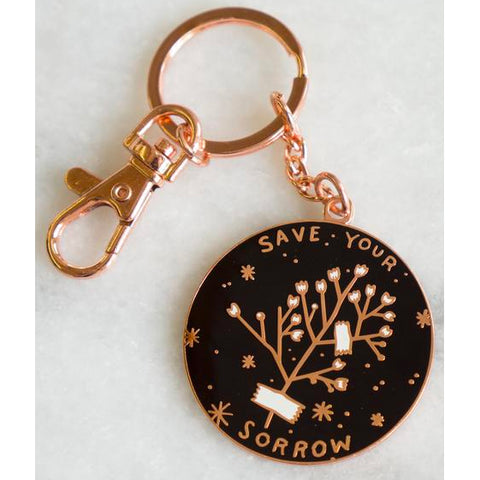 Keychain - Save Your Sorrow