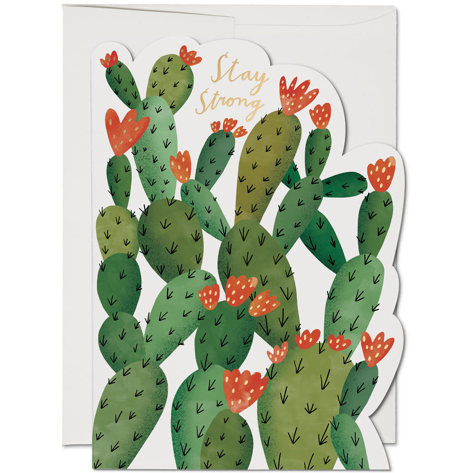 Card - Stay Strong Cactus
