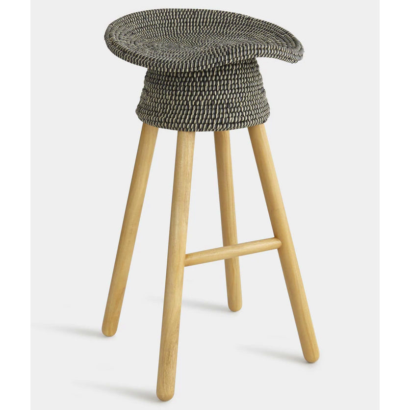 Stool - Coiled, Grey