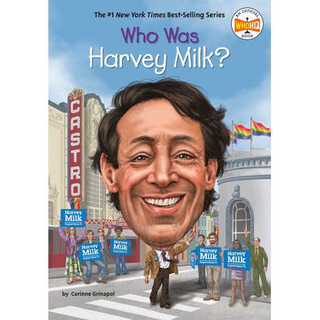 Book - Who Was Harvey Milk
