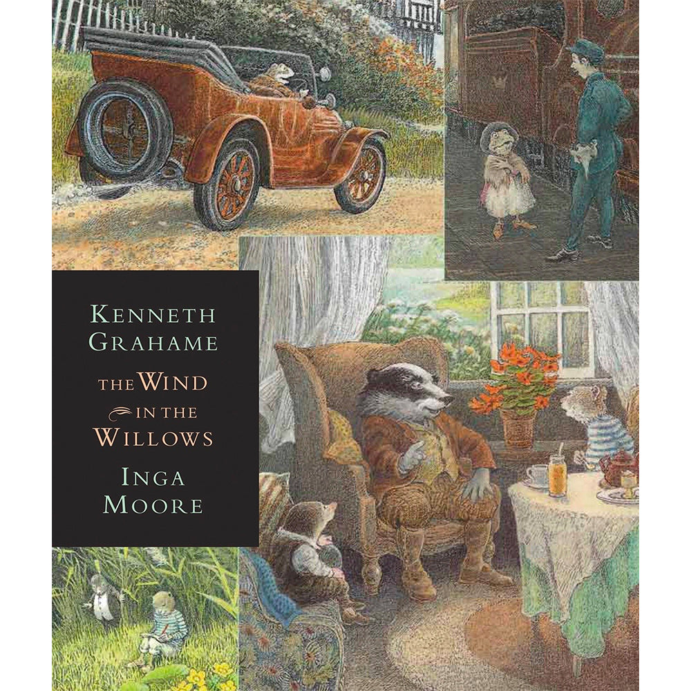 Book - The Wind In The Willows By Kenneth Grahame