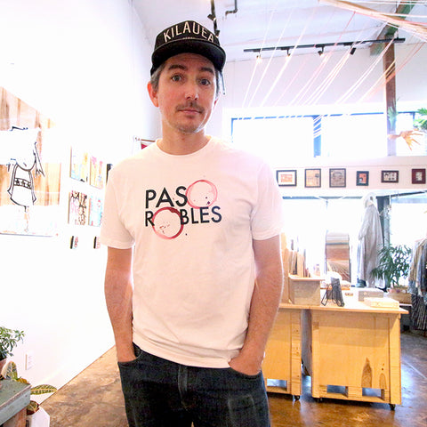 T-Shirt - Paso Robles Wine Stain, Unisex