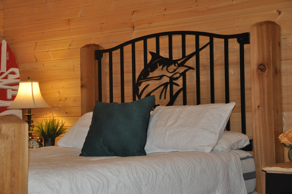 """Launching Marlin"" Rustic Queen Bed"