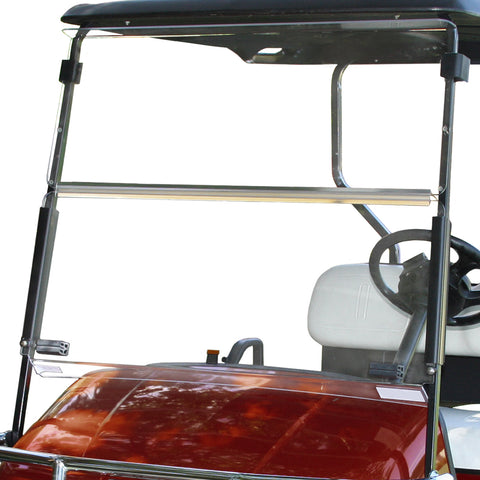 Folding Windshield for EZGO RXV- Clear