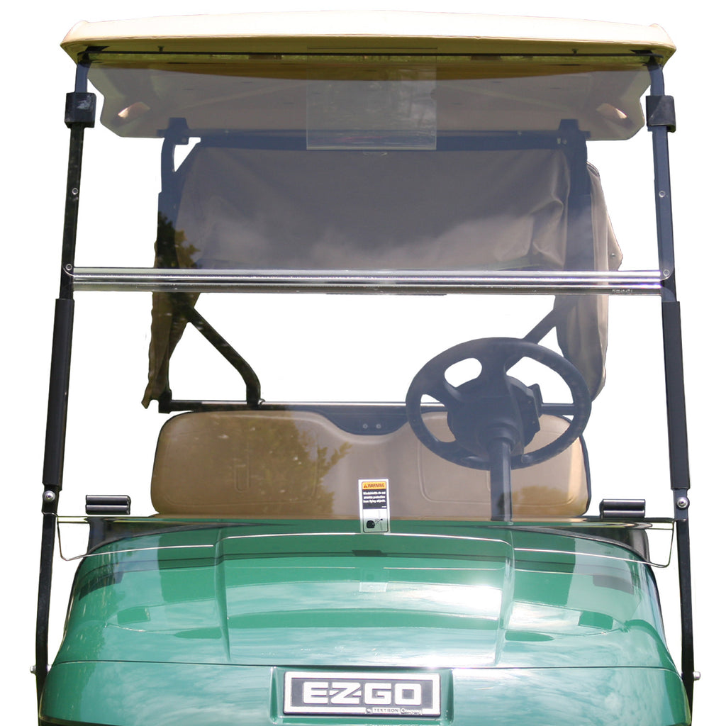 Folding Windshield for EZGO TXT- Tinted