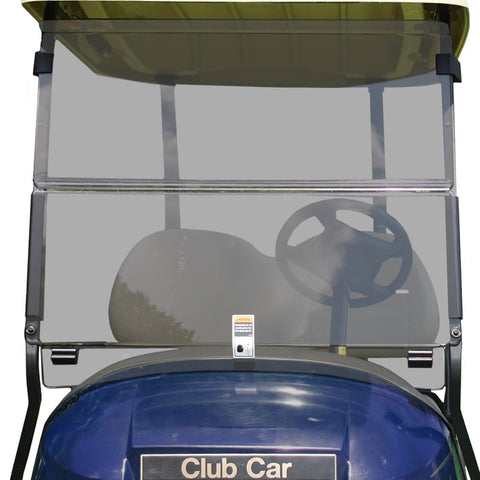 Folding Windshield for Club Car Precedent- Tinted