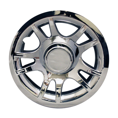 "8"" Chrome Split Spoke Wheel Cover"
