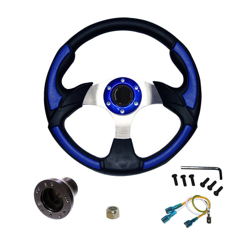 "EZGO Steering Wheel | 14"" - Blue"