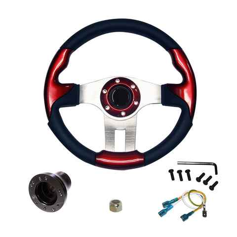 "EZGO Steering Wheel | 13""- Red"