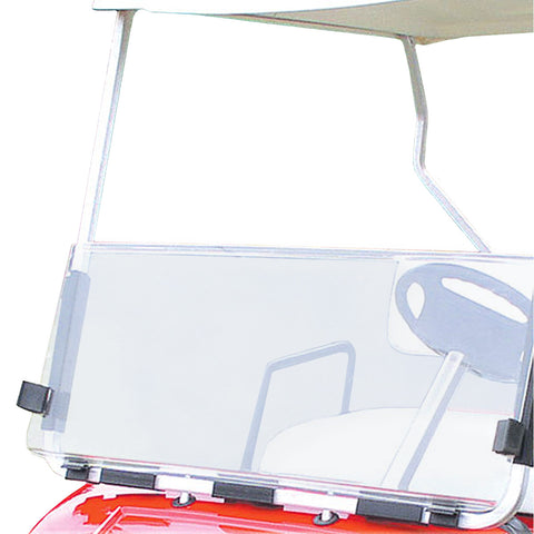 Folding Windshield for Yamaha G14/G16/G19 - Clear