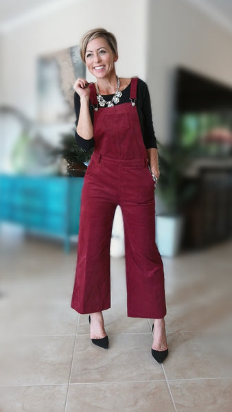 Oliver Jumpsuit- Wine