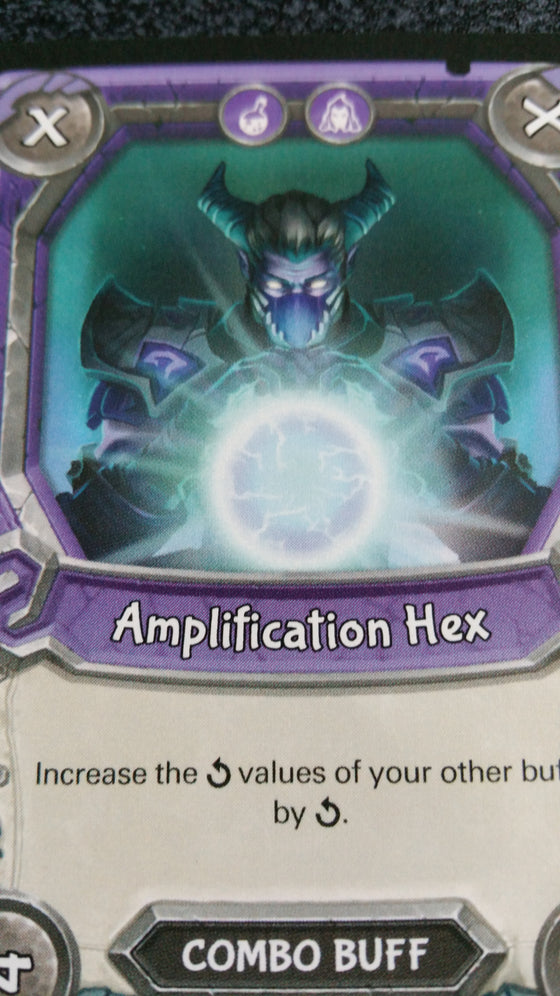 Lightseekers - Dread - Combo Buff - Common - Amplification Hex