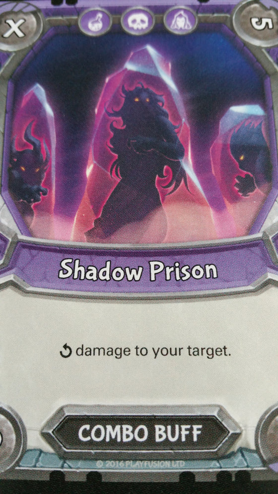 Lightseekers - Dread - Combo Buff - Common - Shadow Prison