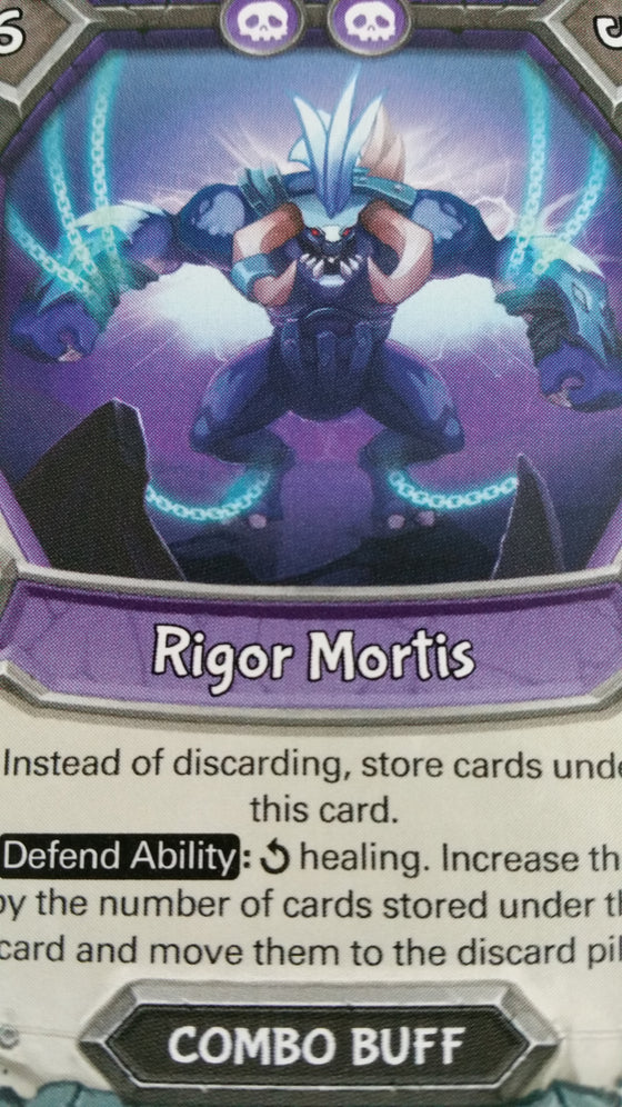 Lightseekers - Dread - Combo Buff - Common - Rigor Mortis